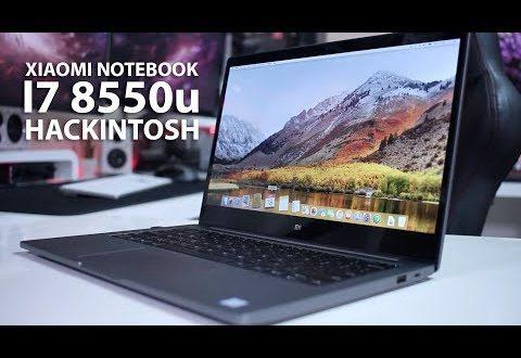 Xiaomi NOTEBOOK 13″ I7 8550u HACKINTOSH | Installation
