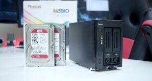 Thecus N2810 NAS Storage Unboxing & Review