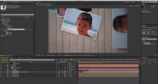 After Effects Tutorial – Throwing Photos 4/5