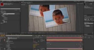 After Effects Tutorial – Throwing Photos 5/5