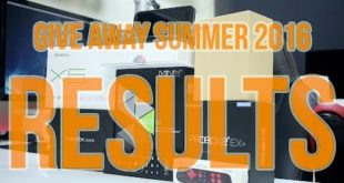 Mega GiveAway Results – Summer 2016
