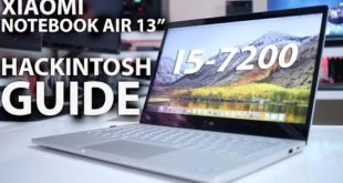 Xiaomi NOTEBOOK AIR HACKINTOSH GUIDE – i5 7200u & MX 150