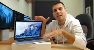 MacBook Pro 13″ Retina Display 2015   Unboxing, Overview & Benchmarks