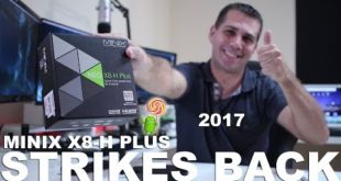 MINIX X8-H PLUS STRIKES BACK 2017 | LOLLIPOP 5.1.1