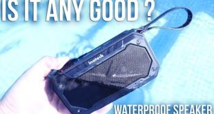 WATERPROOF SPEAKER | IS IT ANY GOOD? | Inateck
