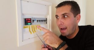 HOW TO Install a Budget ENERGY Meter   Din rail LED Volt, Ammeter