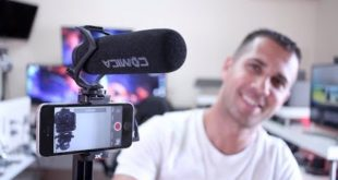 Comica V30 LITE Shotgun MICROPHONE Audio Tests & Review