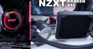 NZXT Kraken X42 DEAD SILENT CPU WATER COOLER