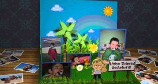 3D Children Photo Book | Apple Motion Template
