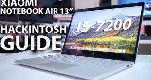Xiaomi NOTEBOOK AIR HACKINTOSH GUIDE – i5 7200u & MX 150